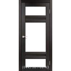 Двері КОРФАД TIVOLI TV-05 венге зі склом (сатин матовий)