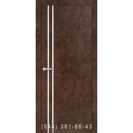 Двері Корфад ALUMINIUM LOFT PLATO ALP-01 арт бетон