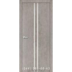 Двери Корфад ALUMINIUM LOFT PLATO ALP-02 лайт бетон