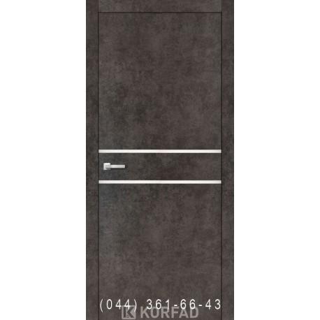 Двери Корфад ALUMINIUM LOFT PLATO ALP-03 лофт бетон