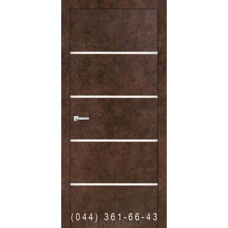 Двери Корфад ALUMINIUM LOFT PLATO ALP-05 арт бетон
