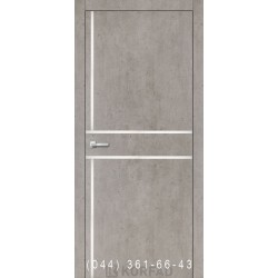 Двери Корфад ALUMINIUM LOFT PLATO ALP-06 лайт бетон