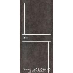 Двери Корфад ALUMINIUM LOFT PLATO ALP-07 лофт бетон