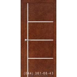Двери Корфад ALUMINIUM LOFT PLATO ALP-08 сталь кортен