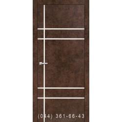 Двери Корфад ALUMINIUM LOFT PLATO ALP-09 арт бетон