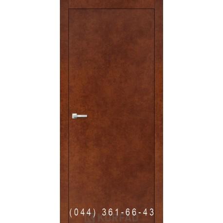 Двери Корфад LOFT PLATO LP-01 сталь кортен