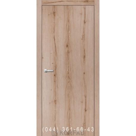 Двери Корфад WOOD PLATO WP-01 дуб табакко