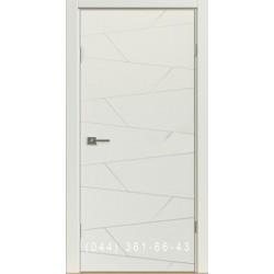 Двери межкомнатные Абстракция белые
