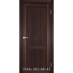 Двери КОРФАД PALERMO PL-01 орех глухое