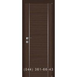 Дверь с молдингами и комбинированным шпоном Fusion F-4.1