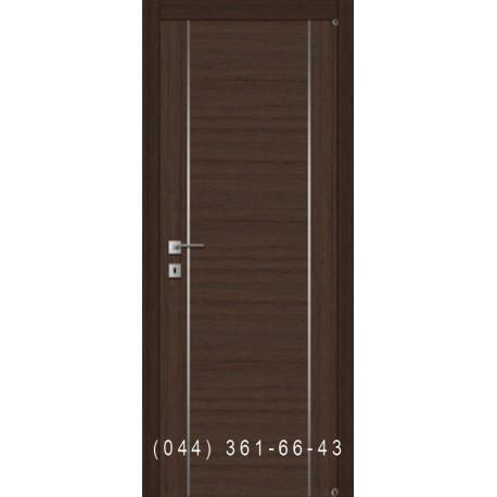 Двері з молдінгами і комбінованим шпоном Fusion F-4.1
