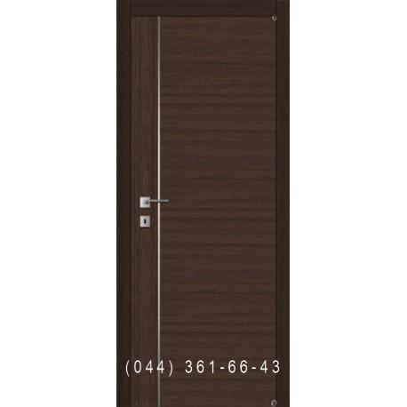 Дверь с молдингом и комбинированным шпоном Fusion F-4.2