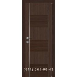 Двери шпонированные комбинированные с молдингом Fusion F-5