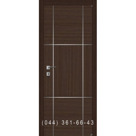 Двері з комбінованим шпоном і молдингом Fusion F-10