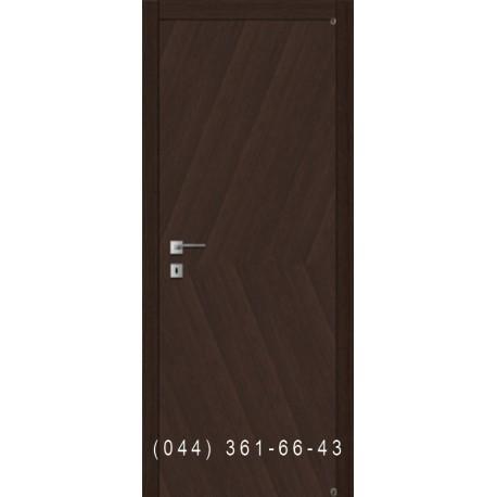 Двері рівні шпон діагональ Fusion F-42