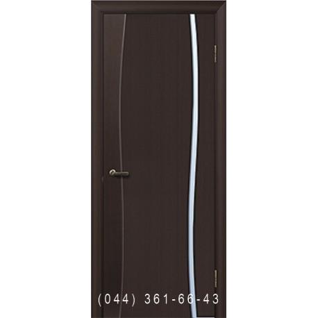Двері шпоновані Грація 1 венге
