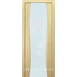 Двері Грація білений дуб малюнок кульбаби