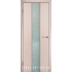 Двері Глазго Медіум білений дуб шпон
