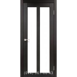 Двери КОРФАД TORINO TR-02 венге со стеклом (сатин матовый)