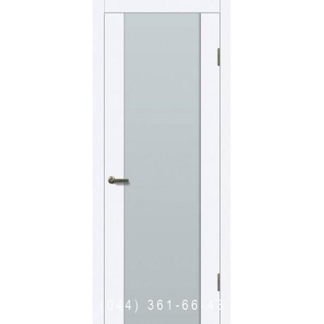 Двери Глазго белая эмаль покраска