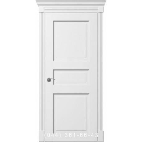Двери межкомнатные Ницца белые