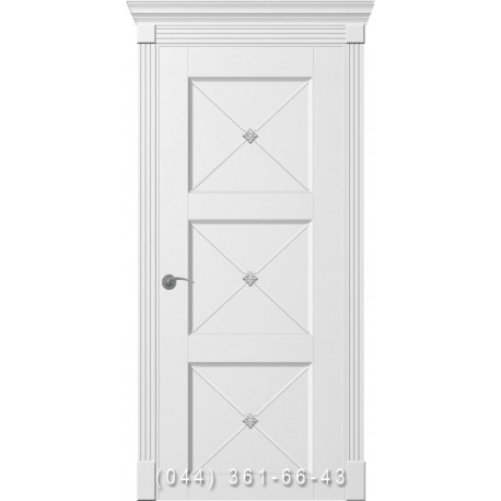 Двери Рим Венециано Прованс белые