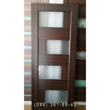 Двері Сієна Новий Стиль 80 см каштан