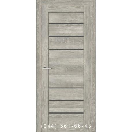 Двери межкомнатные Смарт C034 ОМИС дуб дымчатый
