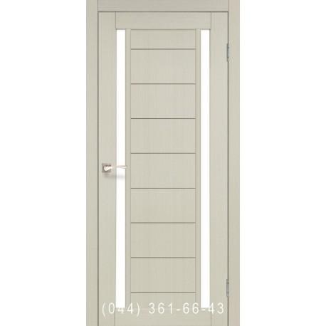 Двери КОРФАД ORISTANO OR-04 дуб беленый со стеклом (сатин матовый)