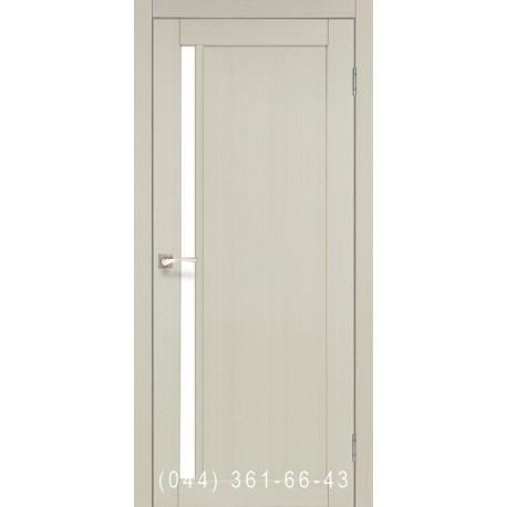 Двери КОРФАД ORISTANO OR-06 дуб беленый со стеклом (сатин матовый)