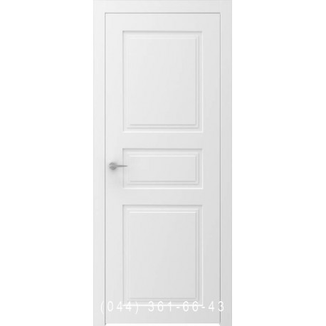 Двери крашенные UNO 3 белые