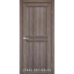 Двері КОРФАД SCALEA SC-01 дуб грей зі склом (сатин матовий)