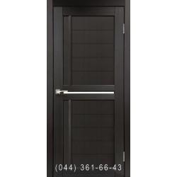 Двері КОРФАД SCALEA SC-03 венге зі склом (сатин матовий)