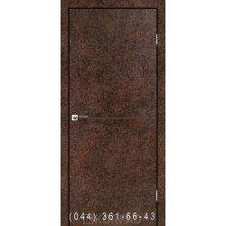 Двері DECO LOFT PLATO DLP-01 Корфад арт бетон глухе + декор (антрацит)
