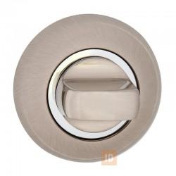 Накладка-поворотник HISAR NR WC (804-WC) SN (никель матовый)