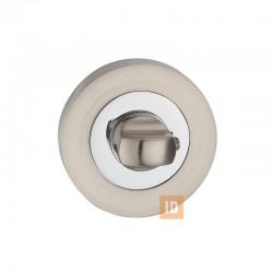 Накладка-поворотник MVM T2 SN / CP (нікель матовий/хром)