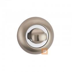 Накладка-поворотник MVM T3 SN/CP (никель матовый/хром)