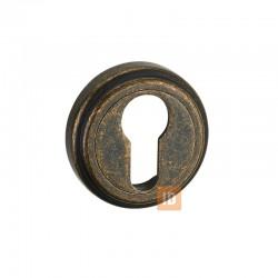 Накладка под цилиндр MVM E6 AMAB (античная матовая старая бронза)
