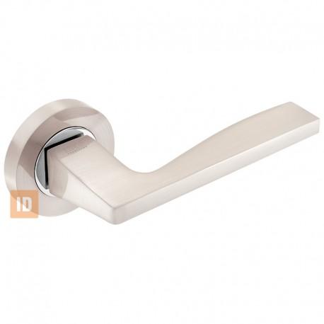 Дверные ручки MVM A-1220 SN/CP (никель матовый/хром)