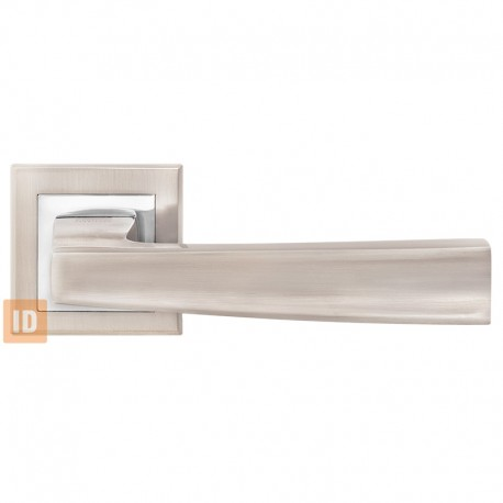 Дверные ручки MVM A-1355 SN/CP (никель матовый/хром)