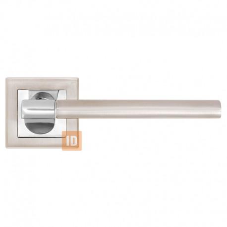 Дверные ручки MVM A-2006 SN/CP (никель матовый/хром)