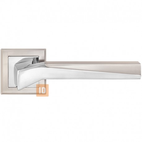 Дверные ручки MVM Z-1319 Neo SN/CP (никель матовый/хром)