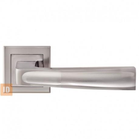 Дверные ручки MVM Z-1355 Ray BN/SBN (черный никель/матовый черный никель)