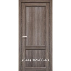 Двери КОРФАД CLASSICO CL-03 (со штапиком) дуб грей глухое