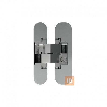 Петли скрытого монтажа MVM AN 150 3D 40 MC (матовый хром)