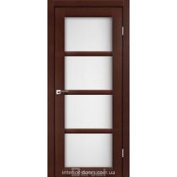 Двері Avant Darumi венге панга зі склом (сатин матовий)