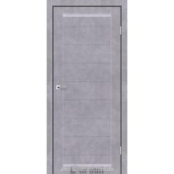 Двері Columbia Darumi сірий бетон глухе
