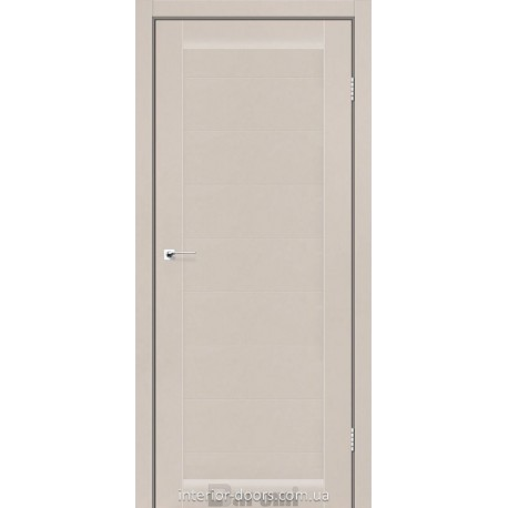 Двери Columbia Darumi дымчатый краст глухое