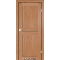 Двери Next Darumi дуб натуральный со стеклом (бронза)
