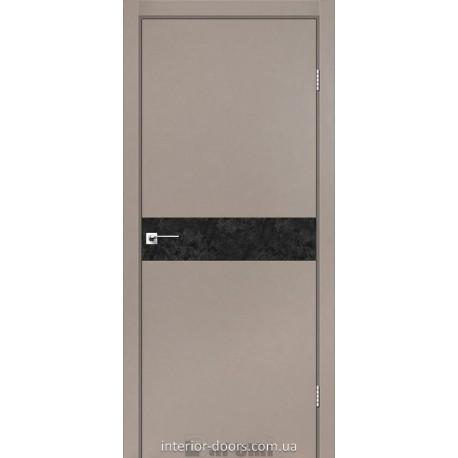 Двері Plato Line PTL-01 Darumi сірий краст глухе
